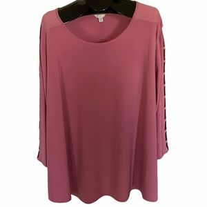 Gorgeous Rose Colored Top! 26/28W